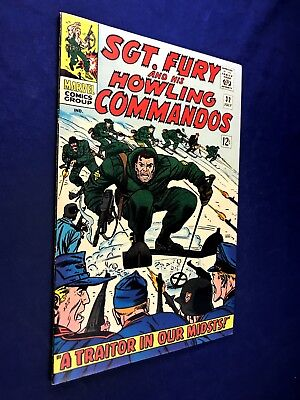 Sgt. Fury and His Howling Commandos #32 (1966 Marvel) Silver Age NO RESERVE
