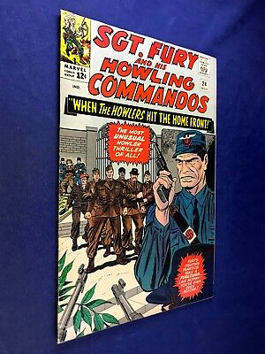 Sgt. Fury and His Howling Commandos #24 (1965 Marvel) Silver Age NO RESERVE