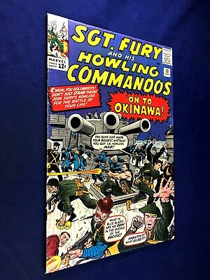 Sgt. Fury and His Howling Commandos #10 (1964 Marvel) Silver Age NO RESERVE
