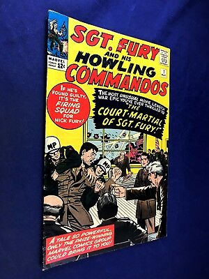 Sgt. Fury and His Howling Commandos #7 (1964 Marvel) Silver Age NO RESERVE