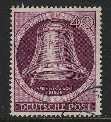 OPC 1951 Germany Berlin 40pf Bell Sc#9N74 Mi#79 Used Sound VF 28336