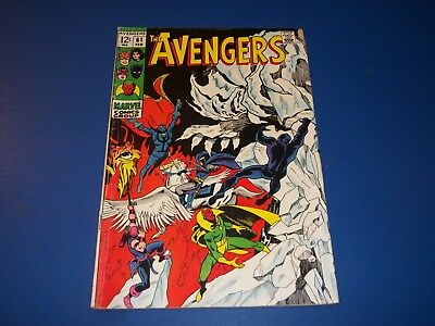 Avengers #61 Silver Age Dr. Strange Vision Solid VG- Wow