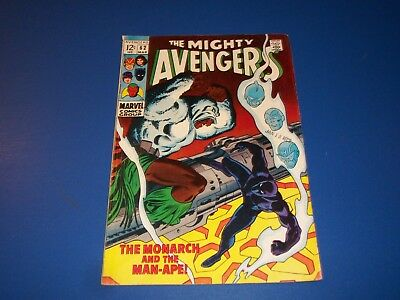 Avengers #62 Silver Age Black Panther Solid Wow VG