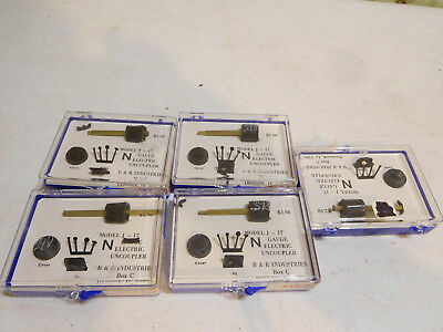 Lot of B & R Industries N Scale Electric Uncoupler Kits