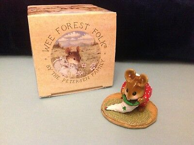 Wee Forest Folk, M-142 Chris-Mouse Stocking, new in box