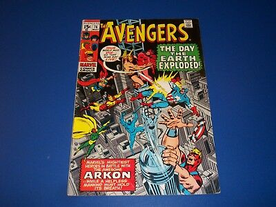Avengers #76 Silver Age Thor vs Arkon Solid VG/F Wow