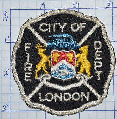 Canada, City Of London Fire Dept Patch