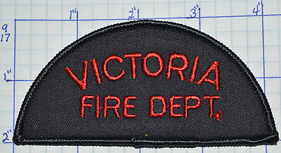 Canada, Victoria Fire Dept Red Thread Patch