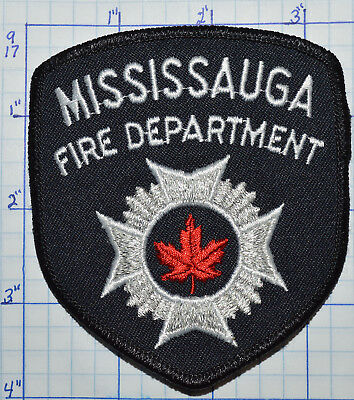 Canada, Mississauga Fire Dept Black Patch
