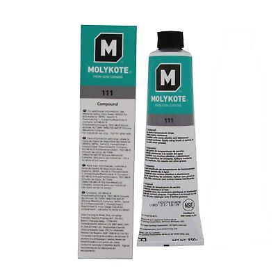 Dow Corning Molykote 111 O-Ring Valve Silicone Lubricant Sealant Grease 150g 5.3