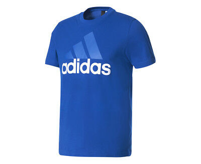 Adidas Men's Essentials Linear Tee - Collegiate Royal