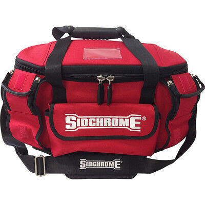 Sidchrome Heavy Duty Round Mouth Tool Bag - SCMT50001