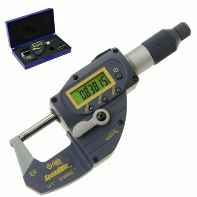 "SpeedMic Digial Micrometer 1""/0.00005"" Absolute Origin Snap Indicaing Lever IP65"