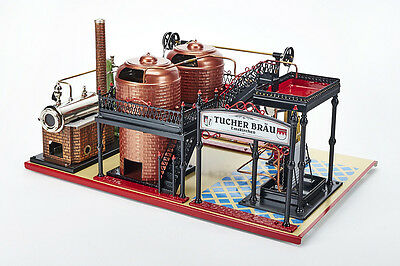 Tucher Blech Original (Tucher & Walther) T077 Brauerei (brewery), steam engine