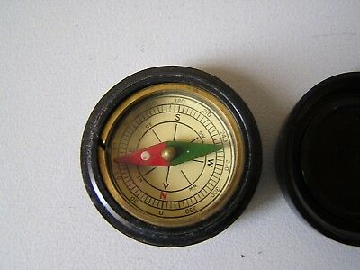 Genuine Vintage 1950's Bakelite Pocket Compass