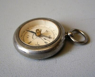 GENUINE VINTAGE 1930's small  GERMAN POCKET COMPASS