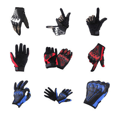 Motorcycle Motorbike Cycling Racing Full Finger Glove Hard Knuckle Outdoor Glove