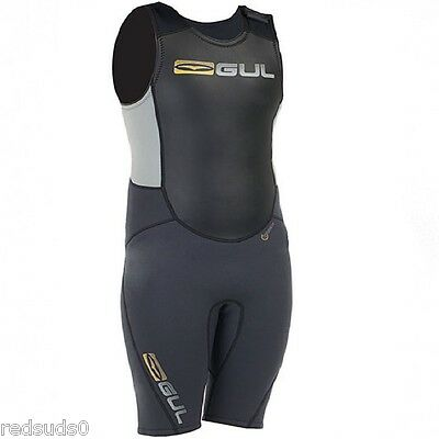 Gul Response Shortjohn Wetsuit Surf Swimming Summer Medium M 3Mm Short John