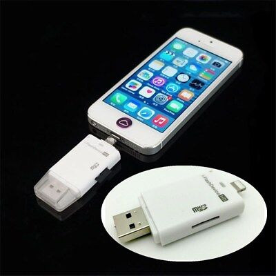 I-Flash Drive USB Micro SD Card Reader High Speed Flash Drive For iPhone iPad