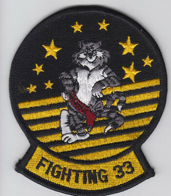 Patch Usn F-14 Tomcat Vf-33 Starfighters Cat  Parche