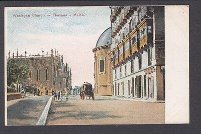 Malta - Floriana Wesleyan Church - Early Card