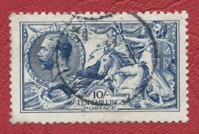 George V SG 412 10/- fine used, Cat £875 with good colour, as scan - Ref 1373