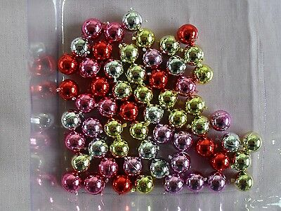 Dolls House Christmas Tree  Baubles, Tinsel And Tree Topper Decorations