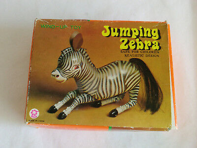 Jumping Zebra  Figur Made in China MS 505   siehe auch Fotos
