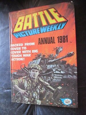 Battle Picture Weekly Annual 1981 Hb