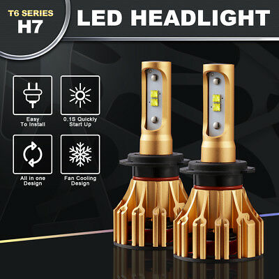 CREE H7 LED Headlight Conversion Kit Car Light Bulbs 1080W 162000LM 6500K White