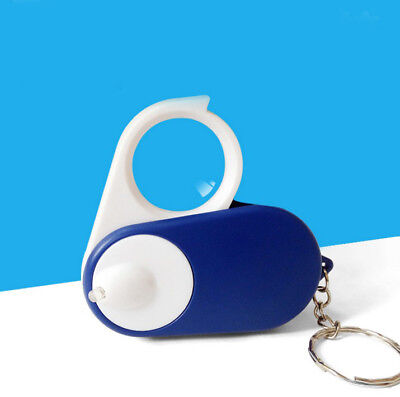 5X Portable Collapsible LED Light High Definition Optical Magnifying Glass .