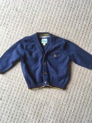 Baby Boys Blue Cardigan Age 0-3 Months From Ted Baker