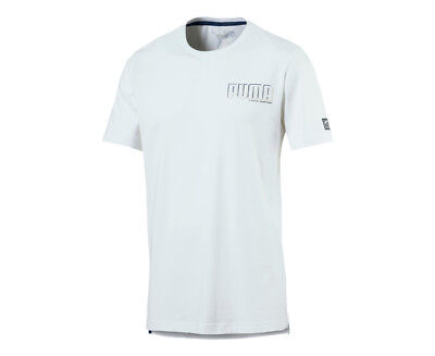 Puma Men's Athletics Tee - White