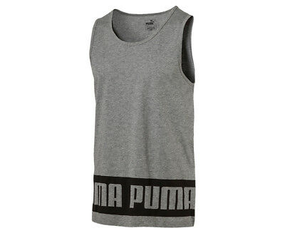 Puma Men's Rebel Tank - Grey Heather