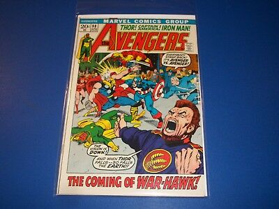 Avengers #98 Bronze Age Barry Smith Quicksilver FVF Beauty Wow 1st Ares Key