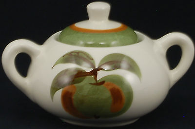 Stangl Orchard Song Sugar Bowl and Lid