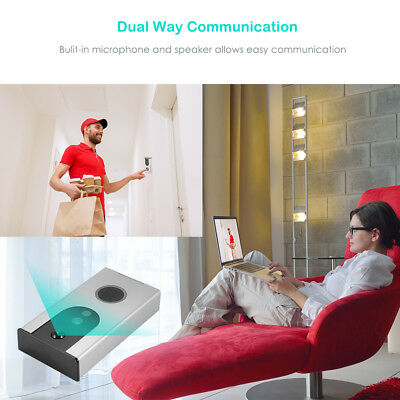 720P Wireless Smart Wifi Doorbell HD Video Tamper Alarm Motion Detection HS1004