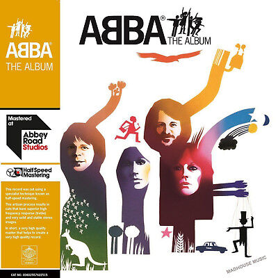 ABBA LP x 2 THE ALBUM 40th Anniversary HALF SPEED REMASTERED Audiophile SEALED