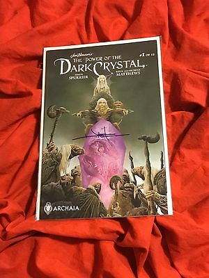 JIM HENSON'S~POWER OF THE DARK CRYSTAL #1~FIRST/1st PRINT~HAND SIGNED JAE LEE~NM