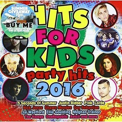 Hits for Kids: Party Hits 2016 Various Artists Audio CD