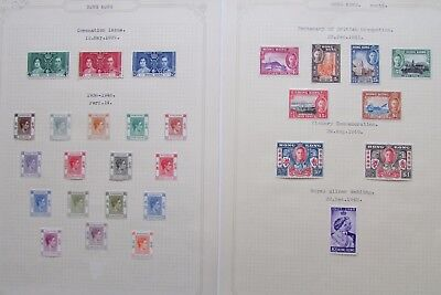 XL2933: Collection of Hong King Mint Stamps (1937 - 48). Cat £200+