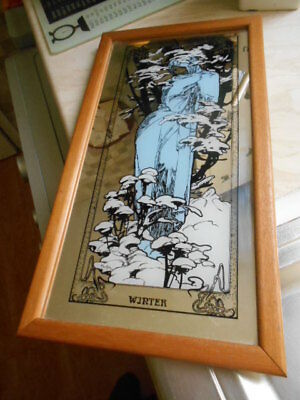mucha 'winter' mirror