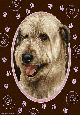 Large Indoor/Outdoor Paws Flag - Fawn Irish Wolfhound 17330