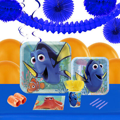 Finding Dory 16 Guest Tableware Deco Kit