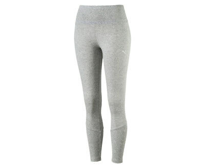 Puma Women's Fusion 7/8 Leggings - Light Grey Heather