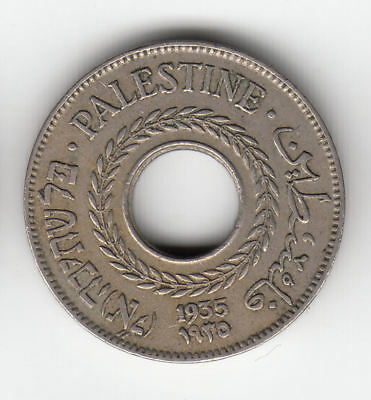 Palestine 5 Mils 1935          54A        By Coinmountain