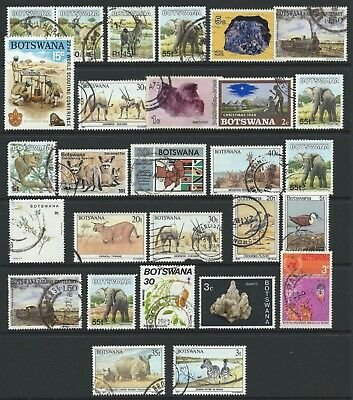 Botswana used accumulation on stock card, exactly as scan - Ref 1357