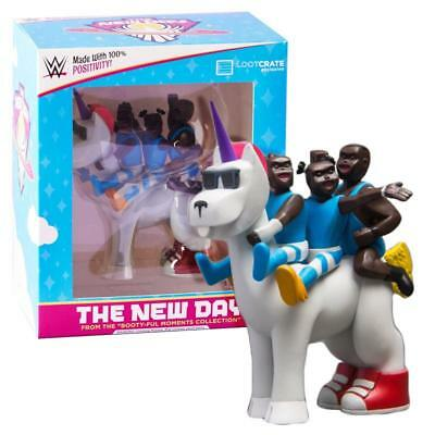 Wwe The New Day Loot Crate Unicorn Exclusive Figure