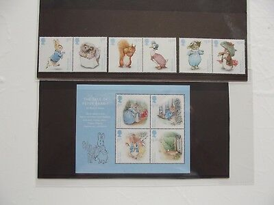 2016, Royal Mail Special Stamps + Mini-Sheet,  MINT NEVER HINGED condition,