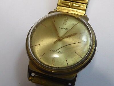 vintage timex electric watch for spares